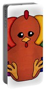 Happy Turkey Day Portable Battery Charger