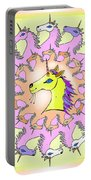Happy Unicorns Portable Battery Charger