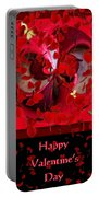 Happy Valentine's Day Card Portable Battery Charger