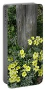 Happy Yellow Flowers Portable Battery Charger