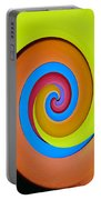 Happy Swirl Portable Battery Charger