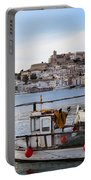 Harbor In Ibiza Town Portable Battery Charger