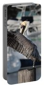 Harbor Pelican And Gull Portable Battery Charger
