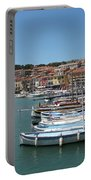 Harbor Scene Cassis  Portable Battery Charger
