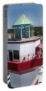 Harbor Town Lighthouse In Hilton Head Portable Battery Charger