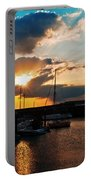 Harbour Sunset Portable Battery Charger