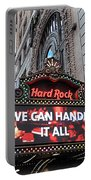 Hard Rock Cafe New York Portable Battery Charger