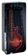 Hard Rock Guitar Nyc Portable Battery Charger