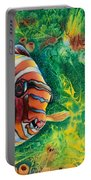 Harlequin Tuskfish Portable Battery Charger
