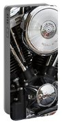 Harley Chrome And Steel Portable Battery Charger