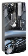 Harley Close-up Engine Close-up 1 Portable Battery Charger