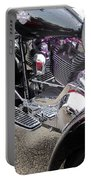 Harley Close-up Purple Lights Portable Battery Charger