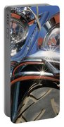 Harley Close Up Portable Battery Charger