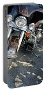 Harley Close-up W Shadow 1 Portable Battery Charger