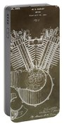 Harley Davidson Engine Portable Battery Charger by Dan Sproul