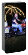 Harley Davidson Light Painting Portable Battery Charger