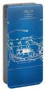 Harley-davidson Motorcycle 1919 Patent Artwork Portable Battery Charger by Nikki Marie Smith