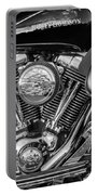 Harley Davidson Ultra Classic Monochrome Portable Battery Charger