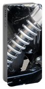 Harley Engine Close-up 2 Portable Battery Charger