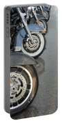 Harley Line Up Rain Portable Battery Charger