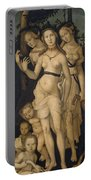 Harmony Or The Three Graces Portable Battery Charger