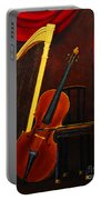 Harp And Cello Portable Battery Charger