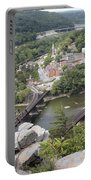 Harpers Ferry Viewed From Maryland Heights Portable Battery Charger