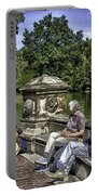 Harpist - Central Park Portable Battery Charger