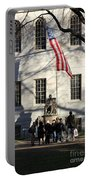 Harvard Statue Portable Battery Charger