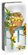 Harvest Fayre Portable Battery Charger by Amanda Elwell