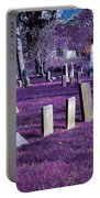 Haunted Cemetery Portable Battery Charger