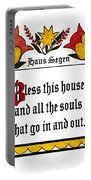 Haus Segen-house Blessing Portable Battery Charger
