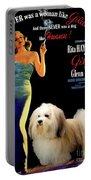 Havanese Art - Gilda Movie Poster Portable Battery Charger