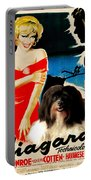 Havanese Art - Niagara Movie Poster Portable Battery Charger