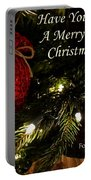 Have Yourself A Merry Little Christmas Portable Battery Charger