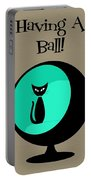 Having A Ball In Aqua Portable Battery Charger