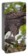 Hawaiian Hawk With Mouse Portable Battery Charger