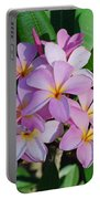 Hawaiian Lei Flower Portable Battery Charger