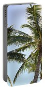 Hawaiian Palm Trees Portable Battery Charger