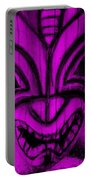 Hawaiian Purple Mask Portable Battery Charger
