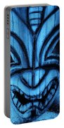 Hawaiian Turquoise Mask Portable Battery Charger