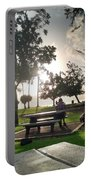 Hawaiian Landscape 9 Portable Battery Charger