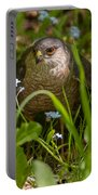 Hawk In The Grass Portable Battery Charger