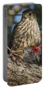 Hawk With Prey Portable Battery Charger