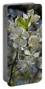 Hawthorn Flowers Portable Battery Charger