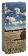 Hay Bales 1 Portable Battery Charger