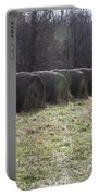 Hay Bales 2 Portable Battery Charger