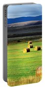 Haystacks, Field, Jackson County Portable Battery Charger