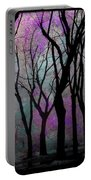 Hazy Purple Portable Battery Charger