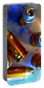 Bullet Art - Hdr Photography Of .32 Caliber Hollow Point Bullets Art 4 Portable Battery Charger